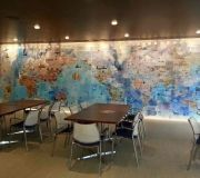 corporate wall murals digitally printed