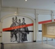 We have printed and installed digital wallpaper in many museums and galleries.