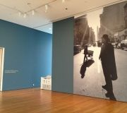 MoMA large wall wraps for museum exhibition