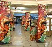 "Large scale ""tower "" graphics can be produced at any custom size and are an easy installation"