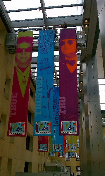 Color X Custom Installation For Printed Displays Banners