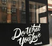 Vinyl printing and installation for outdoor branding