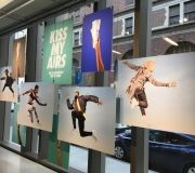 Layered panels printed with hi resolution images on both sides for major retailer