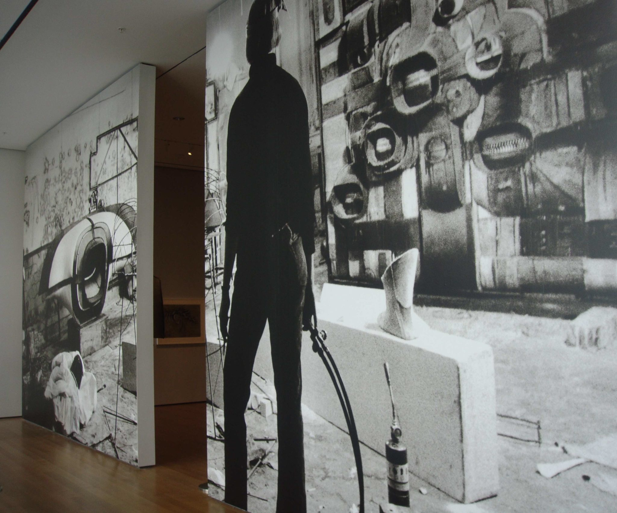 13 museum exhibit wall murals adhesive vinyl moma bontec for Digital print wallpaper mural