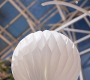 Honeycomb paper shapes for display & decor