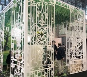 voted-best-booth-at-ICFF-- laser cut Architectural Paper