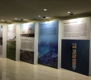 Custom  Display for United Nations Exhibit