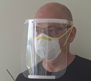 Plastic Face Shield