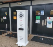 Hand Sanitizer Stations For Entryways at Schools