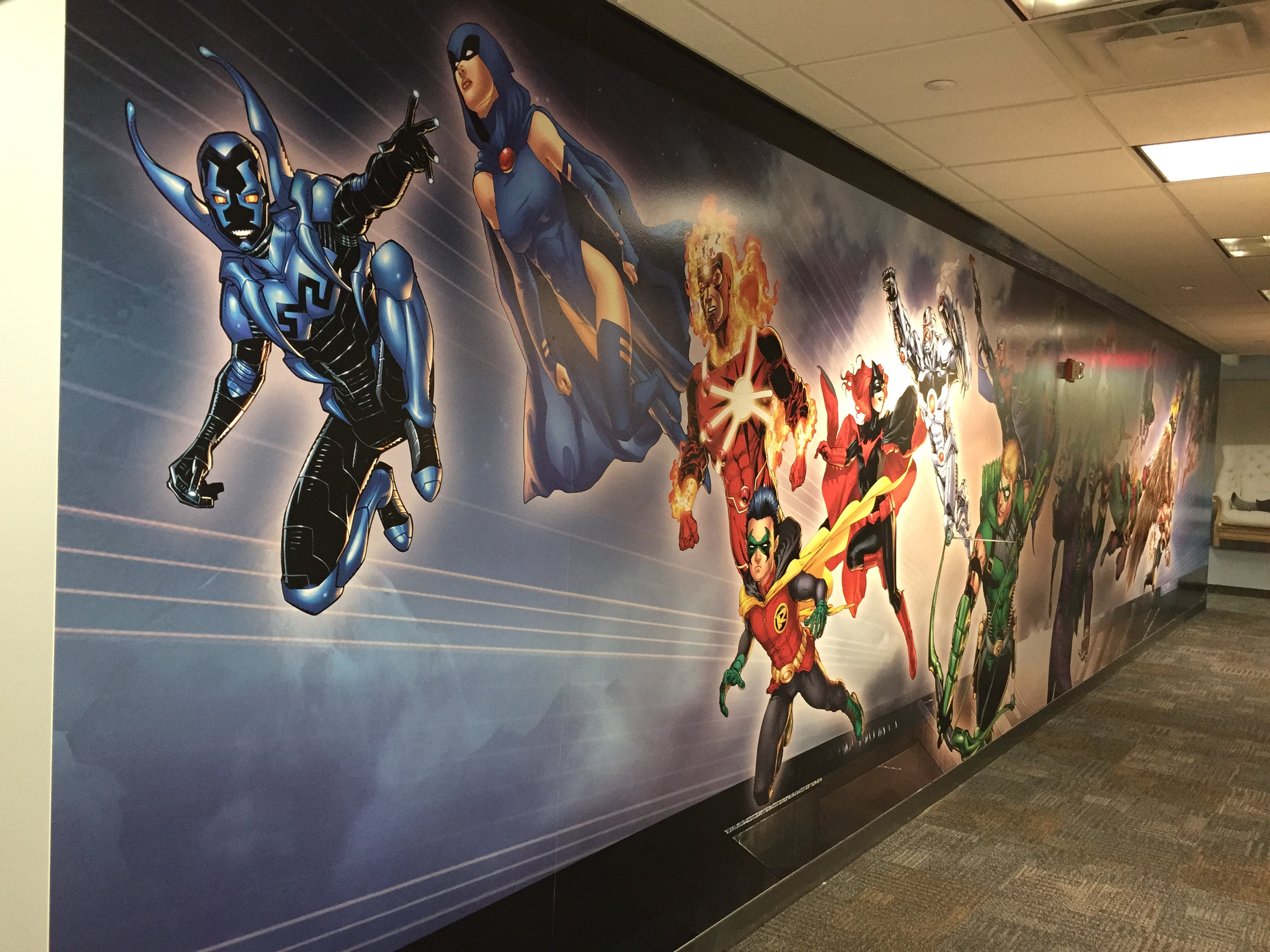 Corporate Wall Mural Graphic