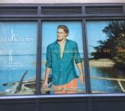 Window vinyls for mens retailer