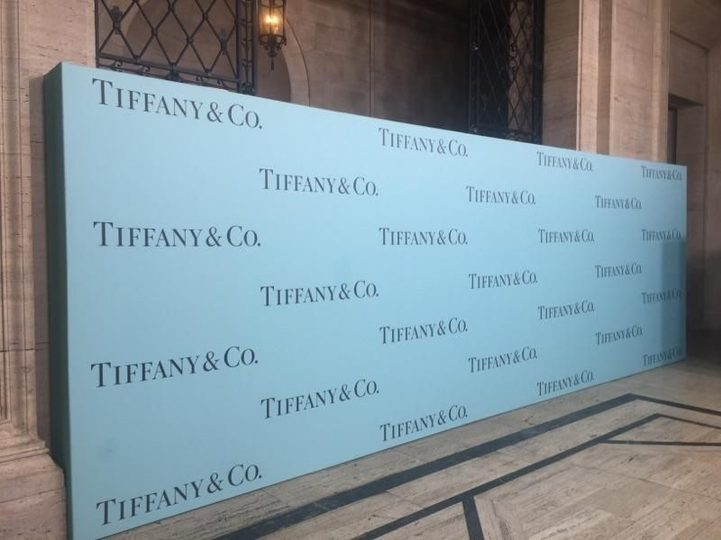 Tiffany Large Format Graphics Display