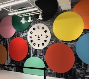 Vinyl Wall Mural for entry at Color Factory NYC