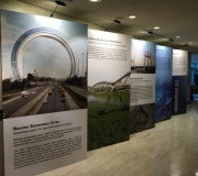 Custom Exhibit Graphics Wall for United Nations Exhibit