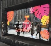 Custom print & cut vinyl for Spring windows