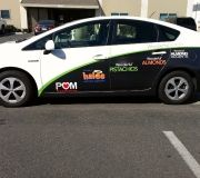 Car wraps to promote brands